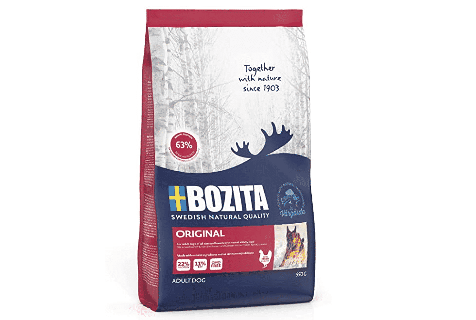 Bozita croquettes pour chien