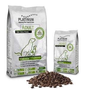 Platinium croquettes chien