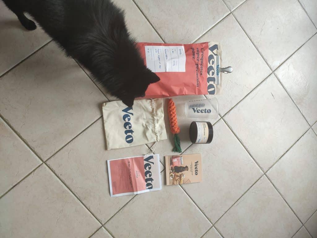 croquettes pour chien Veeto